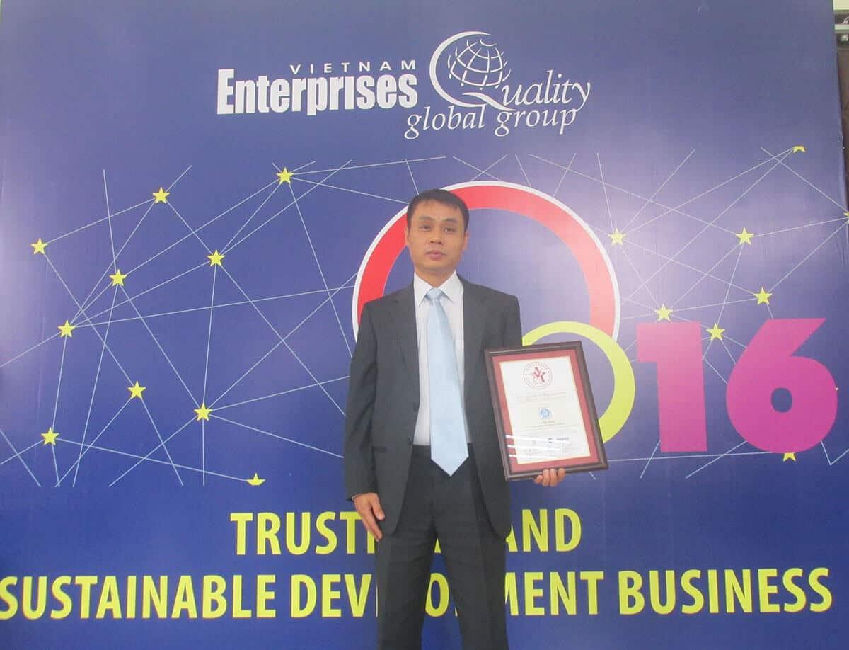 Ông Nguyễn Quốc Trung chủ tịch hội đồng thành viên APT Tech