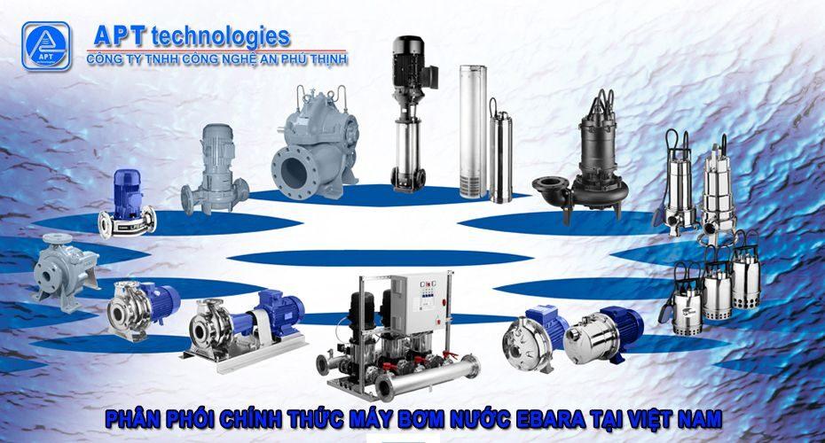 Phân phối máy bơm Ebara